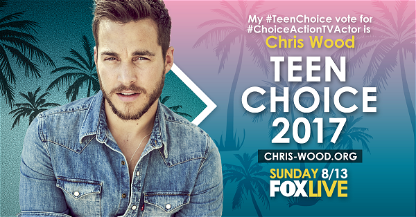 2017 Teen Choice Awards [Vote for Chris]